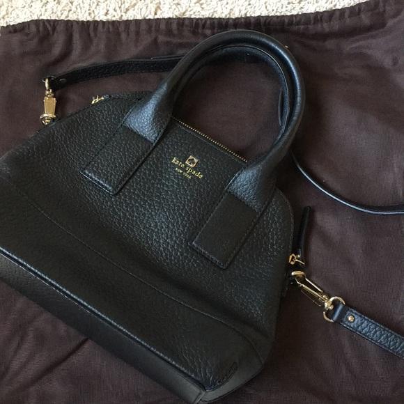 kate spade Handbags - Kate Spade New York Black purse 2way shoulder bag